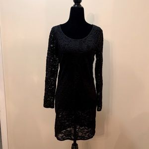 Talula Women's Stretch Lace Dress Black